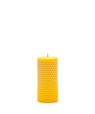 Świeca z węzy pszczelej 105 mm - walec 1