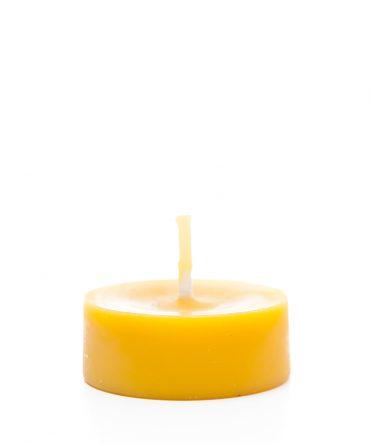 Świeca z wosku pszczelego – podgrzewacz - eko - zapas